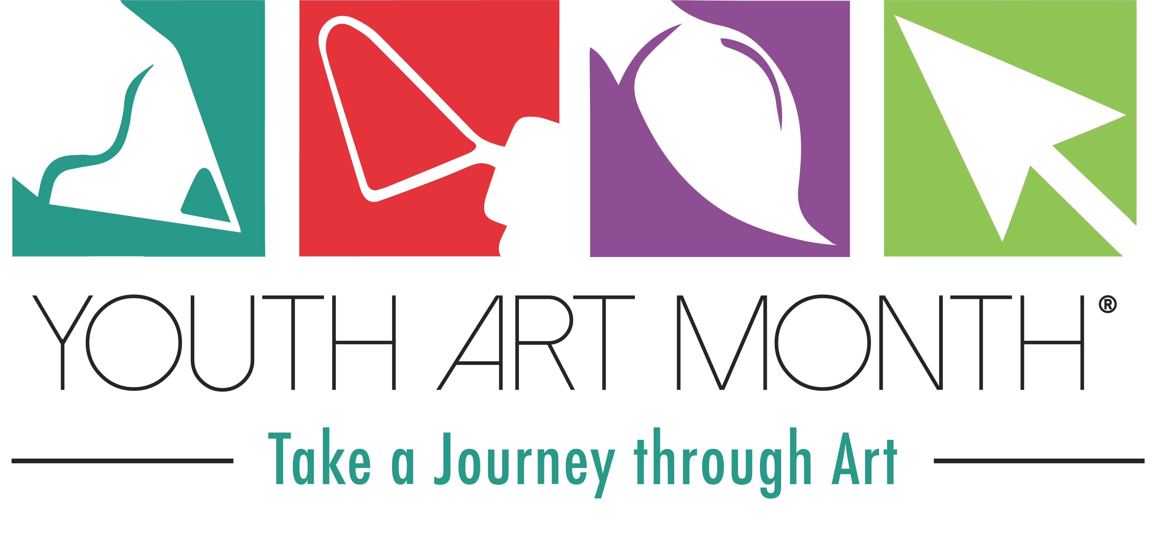Youth Art Month Logo